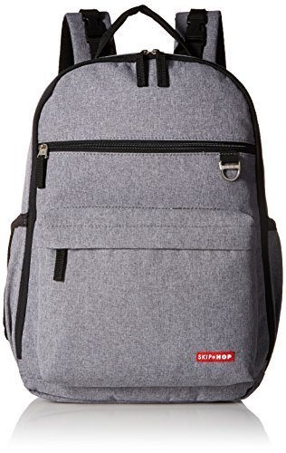 Skip Hop Duo Backpack Review - Heather Grey