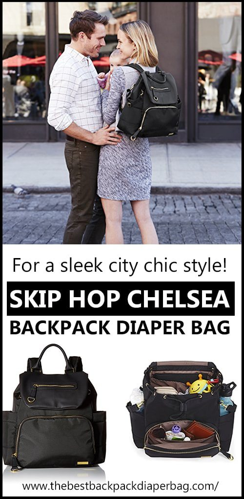 chelsea skip hop diaper bag review