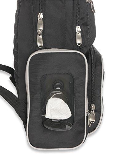 A popular diaper bag is the Graco diaper backpack
