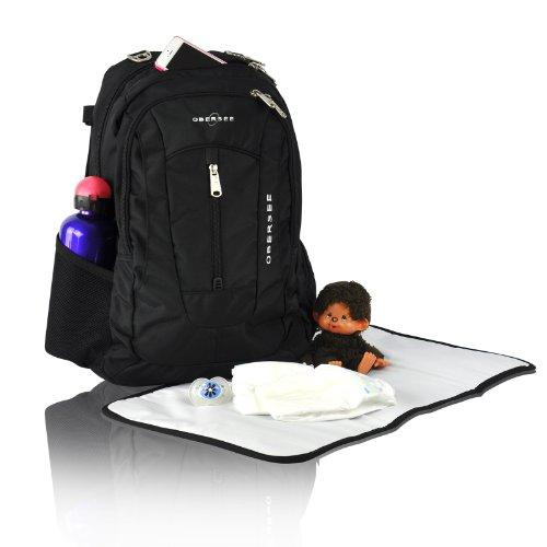 Top 5 Best Backpack Diaper Bags for Men | Obersee Bern Diaper Bag Backpack