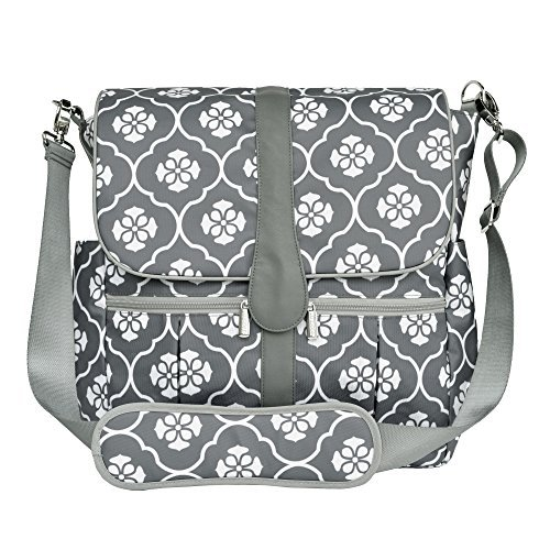 JJ Cole Grey Backpack Diaper Bag Review