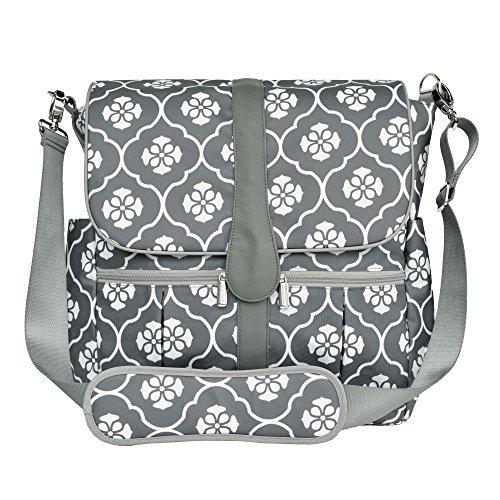 JJ Cole Grey Backpack Diaper Bag Review