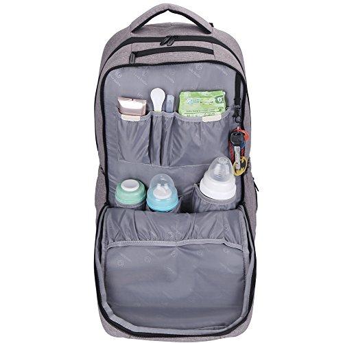 Top 5 Best Diaper Bags for dads | Lekebaby diaper backpack