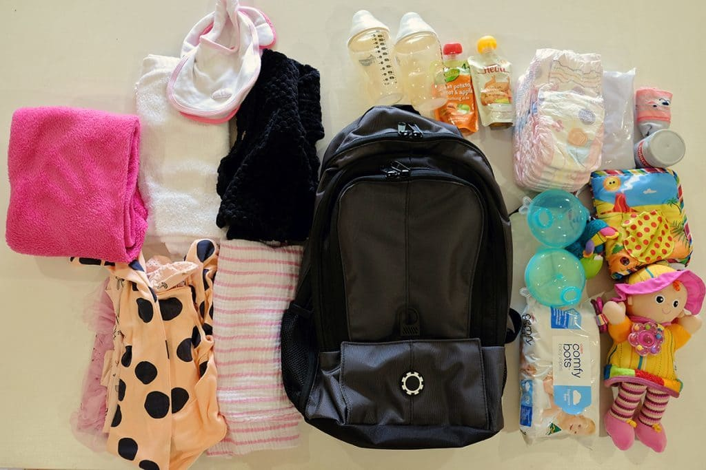 Whats in my Diaper Bag - Baby Diaper Bag List