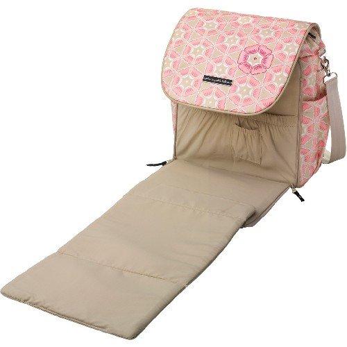 The Plus Diaper Pad of the Beautiful Pink Petunia Pickle Bottom Diaper Bags